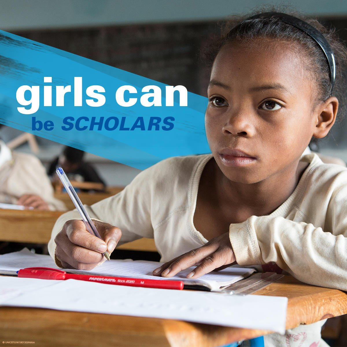UNICEF Education's photo on We Have A Dream