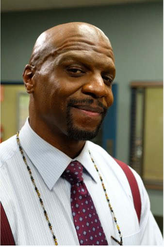 No brows, no bugs, no problems. #Brooklyn99 <br>http://pic.twitter.com/iEDGKwTzAS