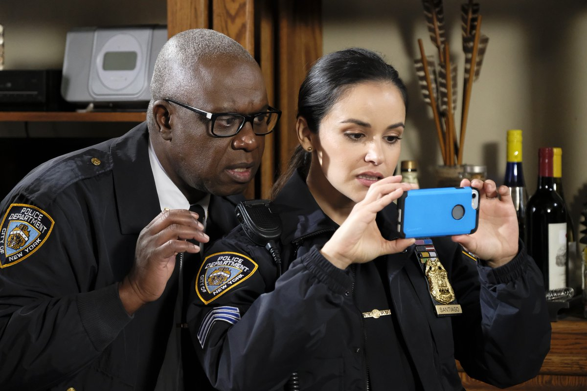 Andre Braugher's photo on #Brooklyn99