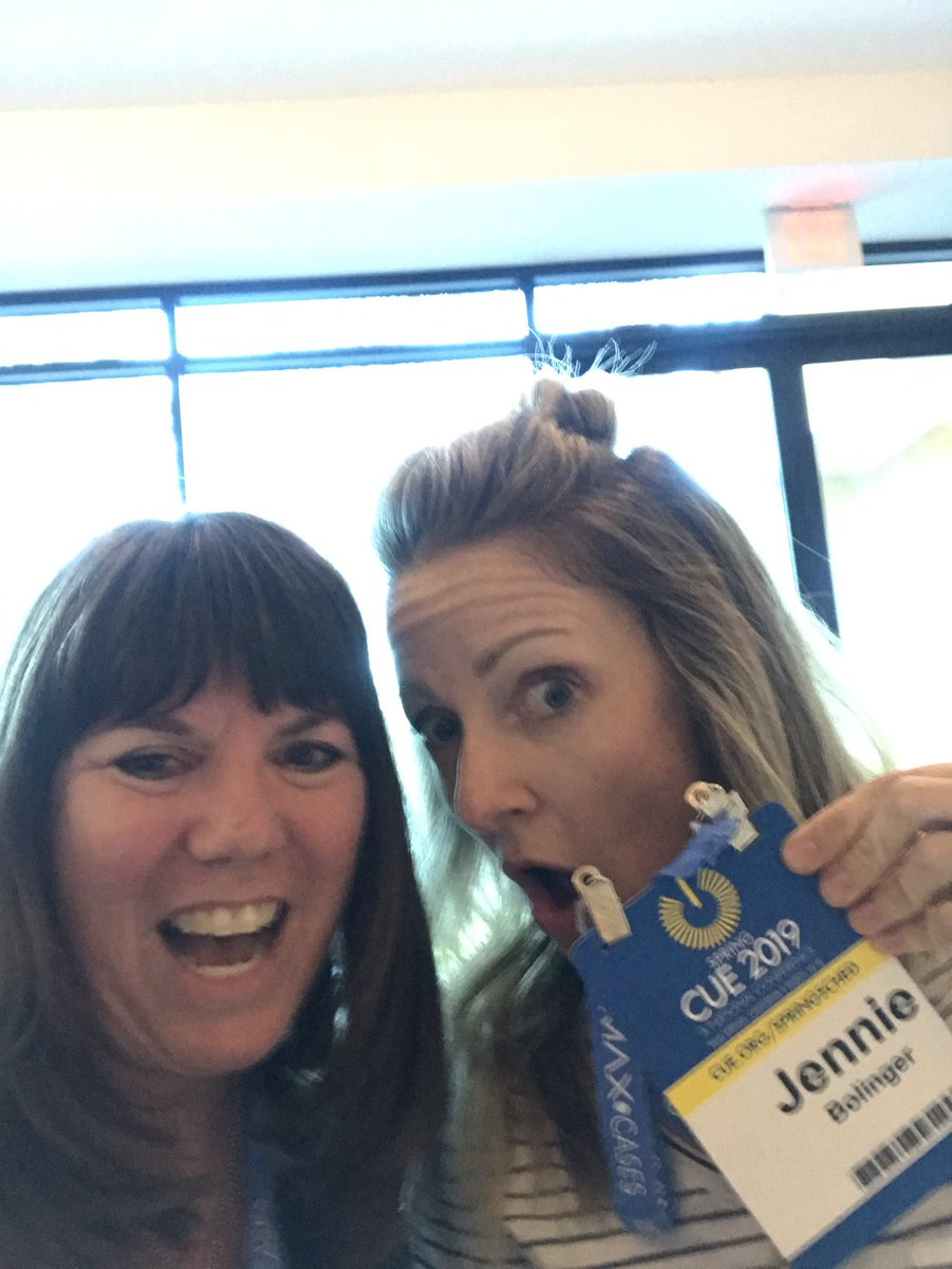 Leslie Long's photo on #CUE19