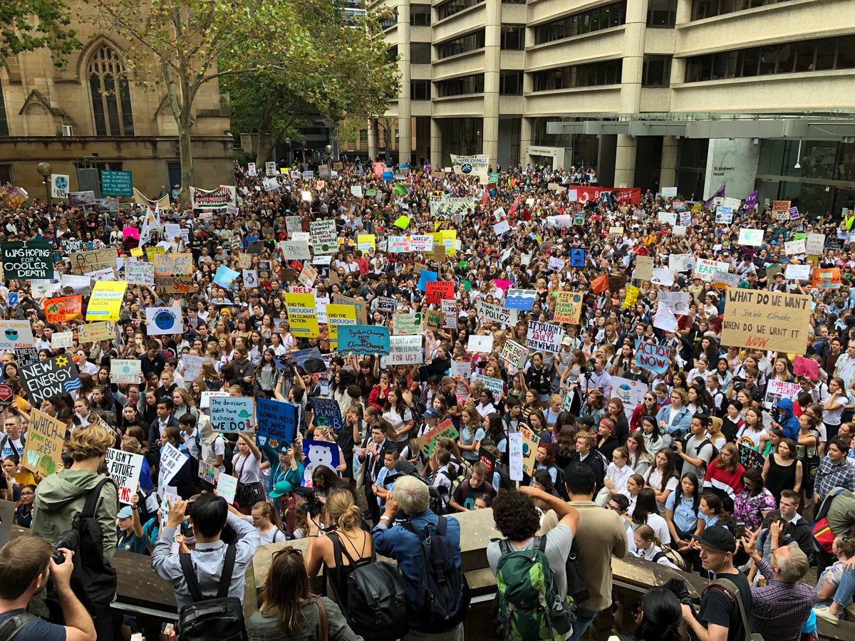 School Strike 4 Climate's photo on Town Hall
