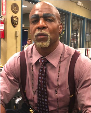 terry crews's photo on #Brooklyn99