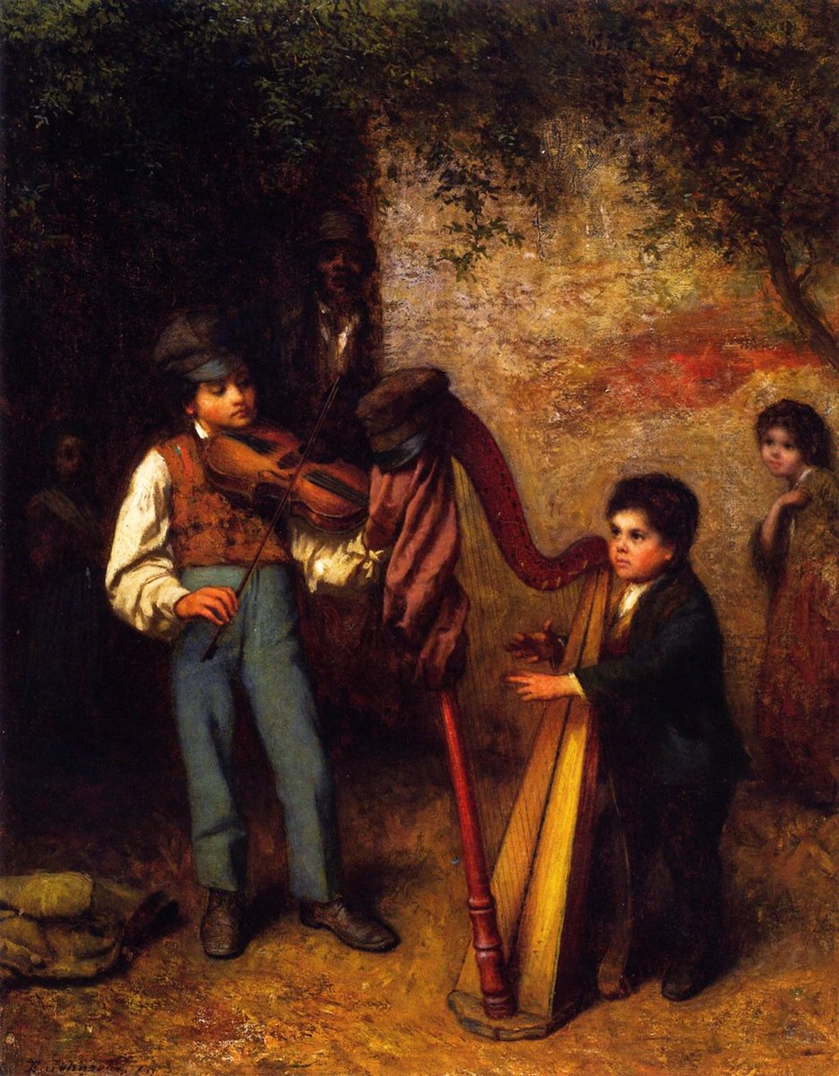 The Young Musicians, 1862 #americanart #johnson <br>http://pic.twitter.com/Y0EjyNh5b2
