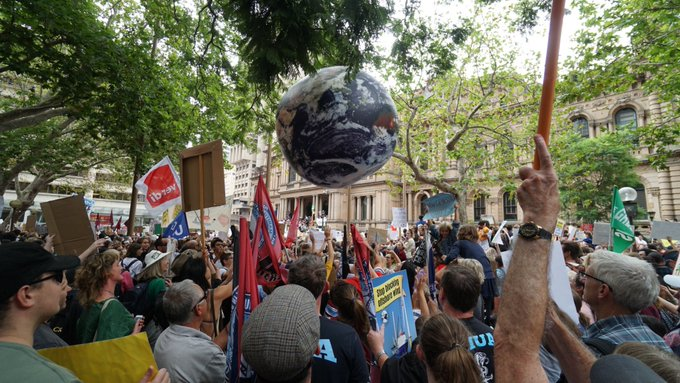 #StudentStrike4Climate Photo