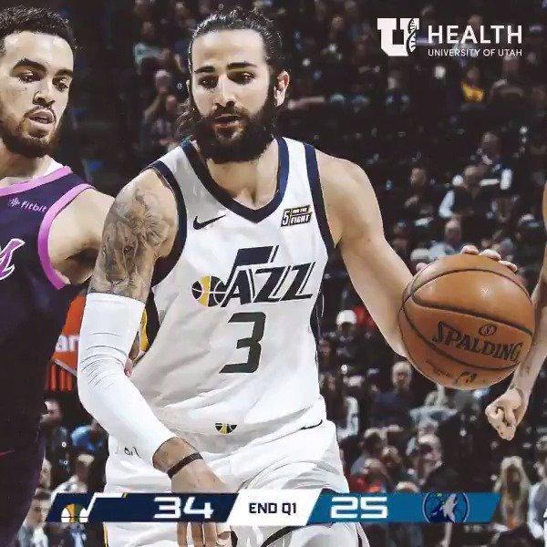 Utah Jazz's photo on #MINatUTA