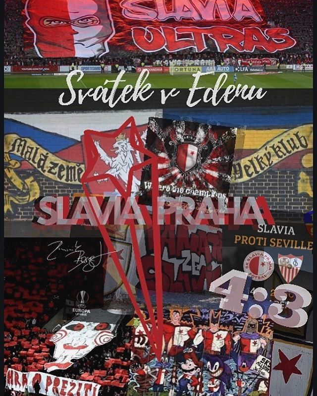 Dominik Burget's photo on Slavia Prague