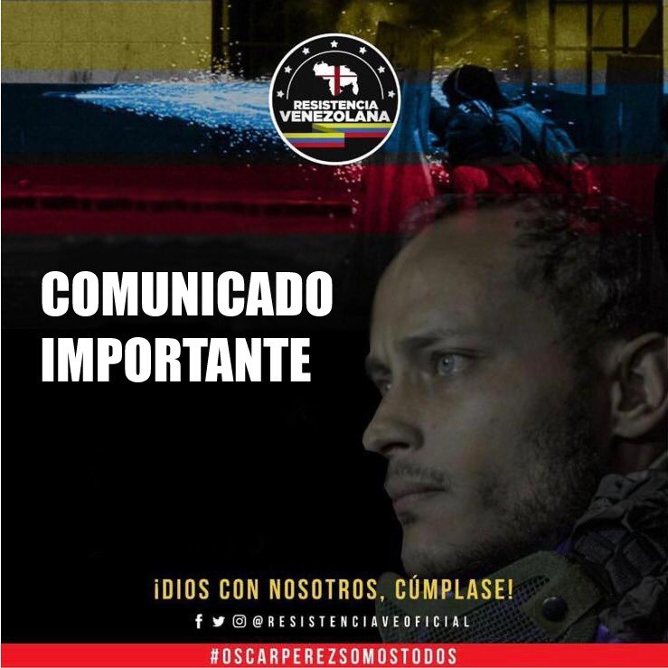 ResistenciaVeoficial's photo on Óscar Pérez