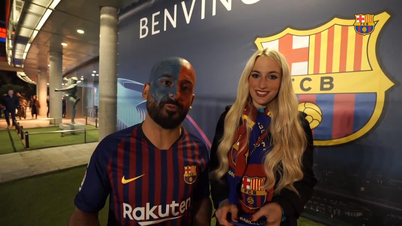 We ��❤  Barça Fans! https://t.co/eRiSdN7a1F
