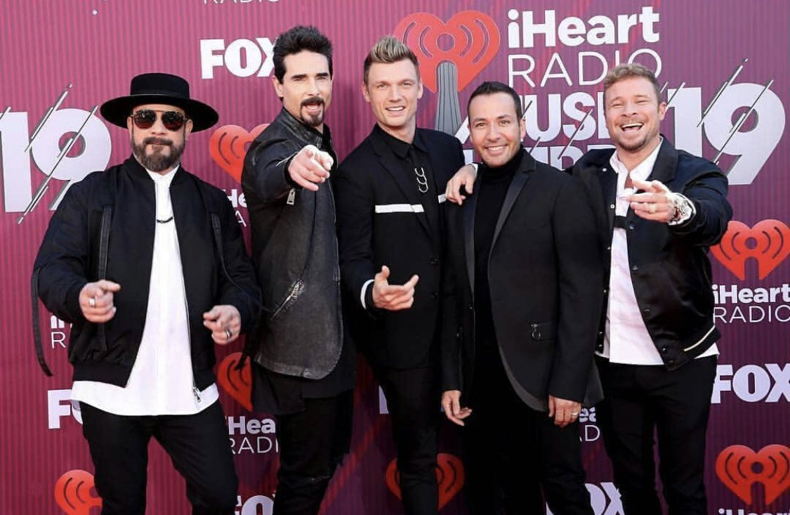 Kevin Richardson's photo on #iHeartRadioAwards2019