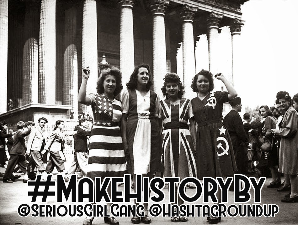 Serious Girl Gang's photo on #MakeHistoryBy