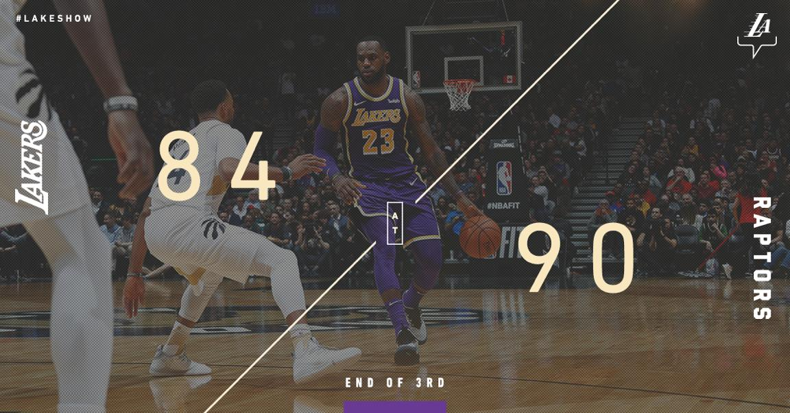 Back within striking distance with 12 left. James: 22 pts Caruso: 16 pts, 5/5 FG