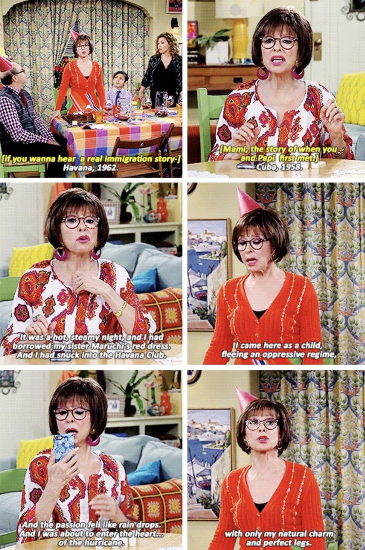 5. You Should #SaveODAAT...because Rita Moreno &amp; her wonderful portrayal of Lydia Riera, a strong, sassy, smart, independent woman, who's not afraid of owning her own sexuality, even as an abuelita, is a big to Hollywood &amp; how disposable actresses become as they age. <br>http://pic.twitter.com/H4gZWAulyl