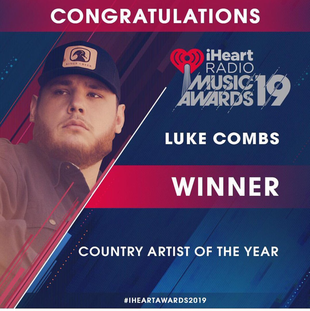 Luke Combs Updates's photo on Artist of the Year