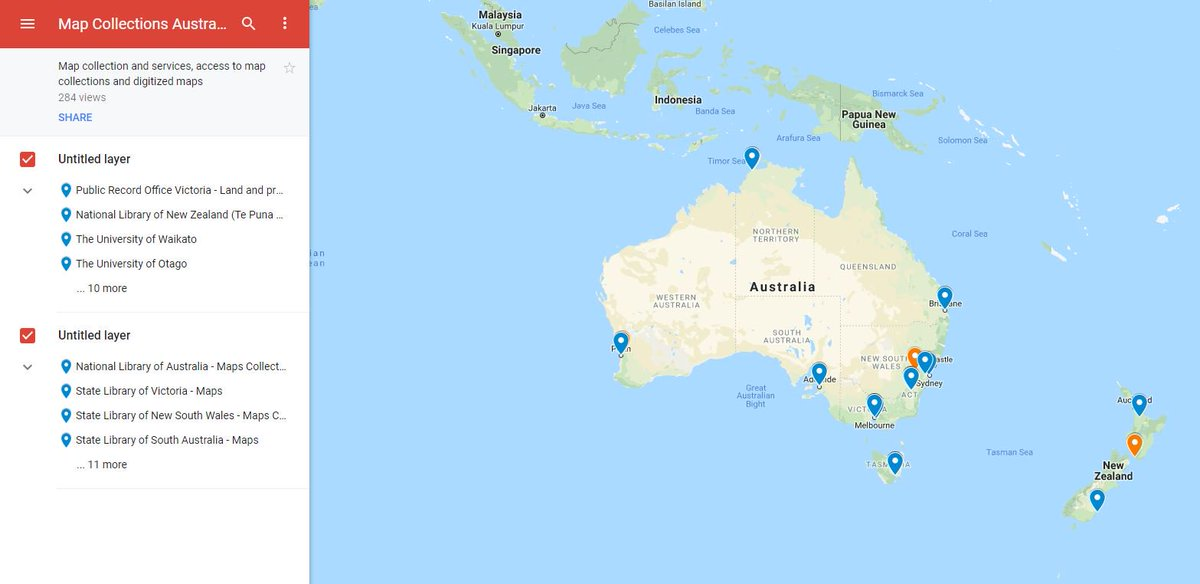 New Zealand Interactive Map.Anzmaps On Twitter Where Can I Find Map Collections In Australia