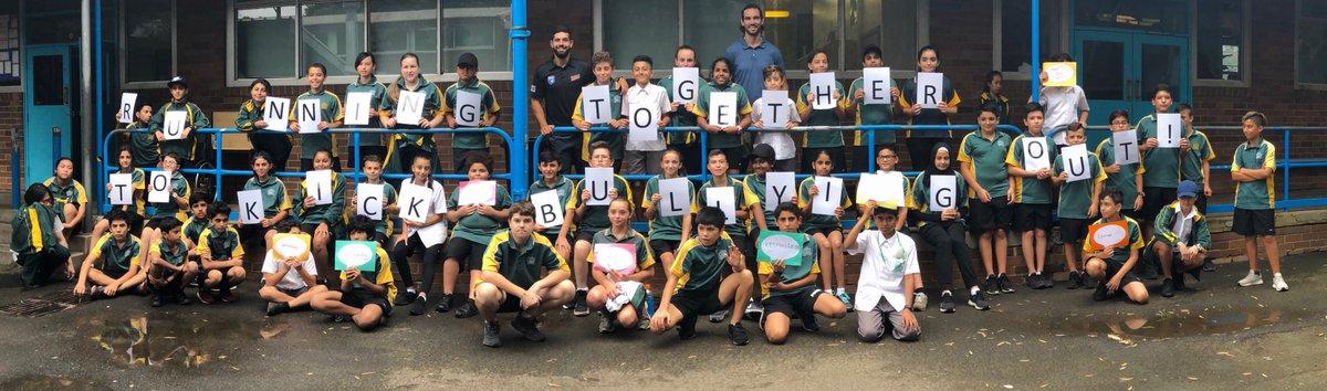 Strathfield South HS's photo on #BullyingNoWay