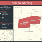 Image for the Tweet beginning: Tornado Warning continues for Haydenville