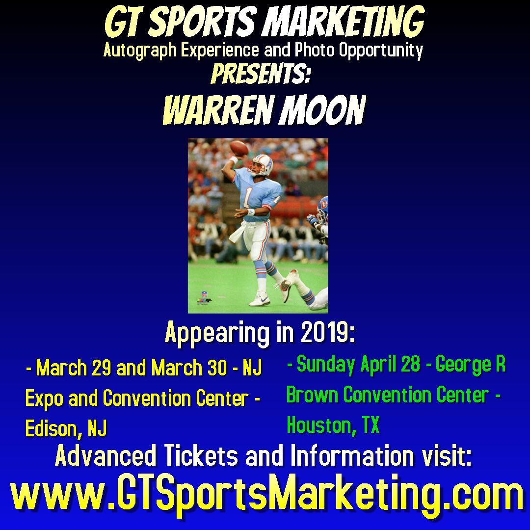 Hey y'all, I'm signing autographs and taking photo ops at @GTSportsMkt show 3/29-3/30 in NJ. W/ @drewbrees,  @JoeMontana, @RonnieLottHOF, etc. https://t.co/RizLNAdN5j https://t.co/r1PLzyM1oK