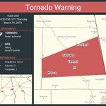 Image for the Tweet beginning: Tornado Warning including Wedowee AL,