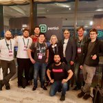 Image for the Tweet beginning: The #Particl team had a