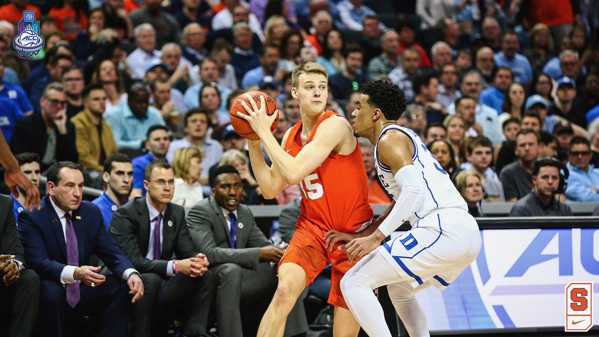 Syracuse exits ACC Tournament with 84-72 loss to Duke