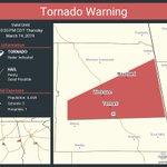 Image for the Tweet beginning: Tornado Warning continues for Wedowee