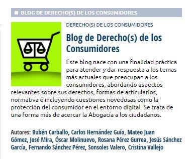 Abogacía Española's photo on Consumidores