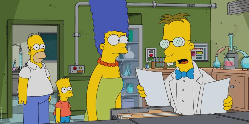 Ce soir, le professeur Frink va faire passer des tests… Alors qui mérite une place dans l'arche pour survivre à la fin du monde ? Les #Simpson à 21:00