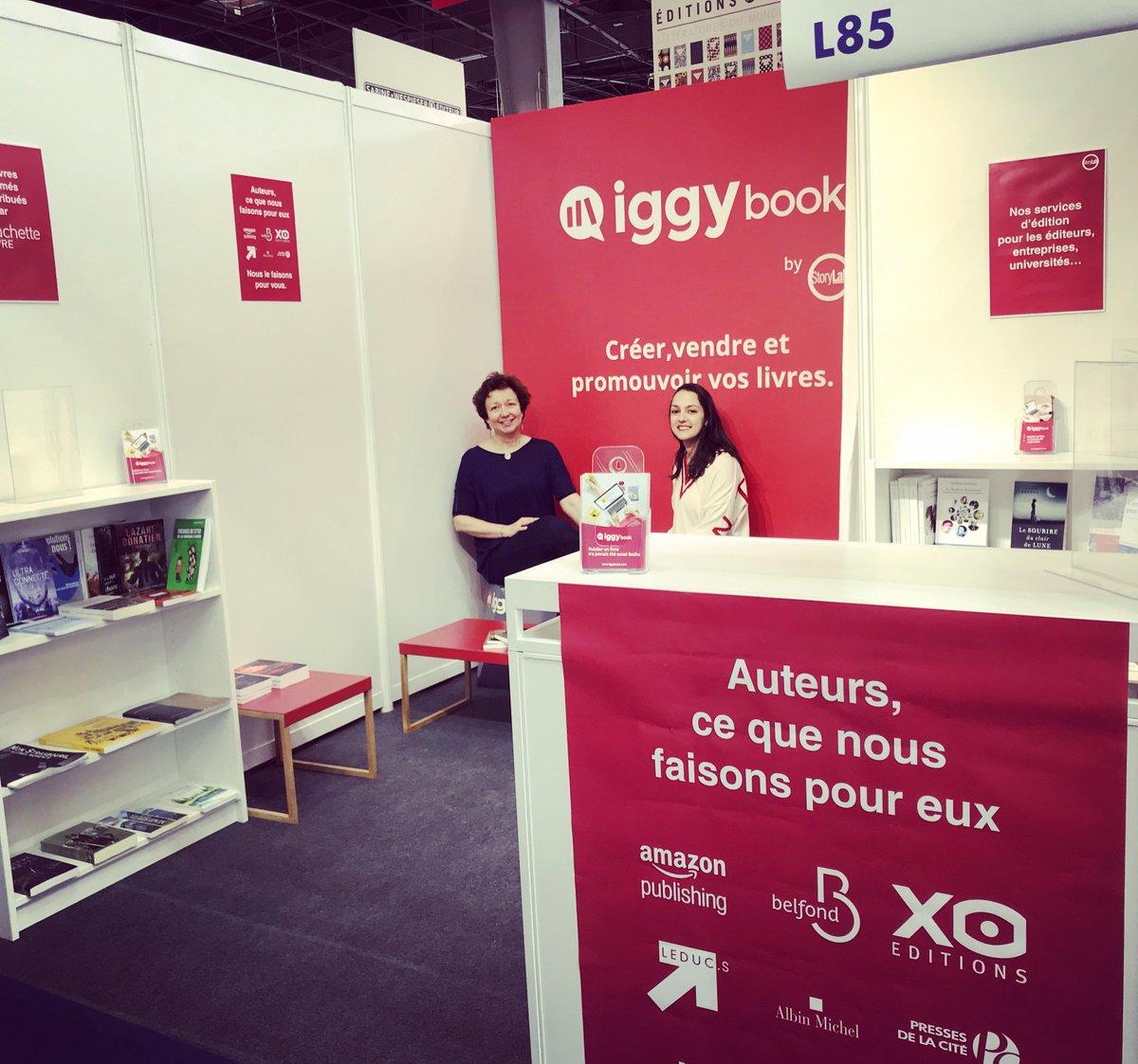IggyBook's photo on #salondulivre