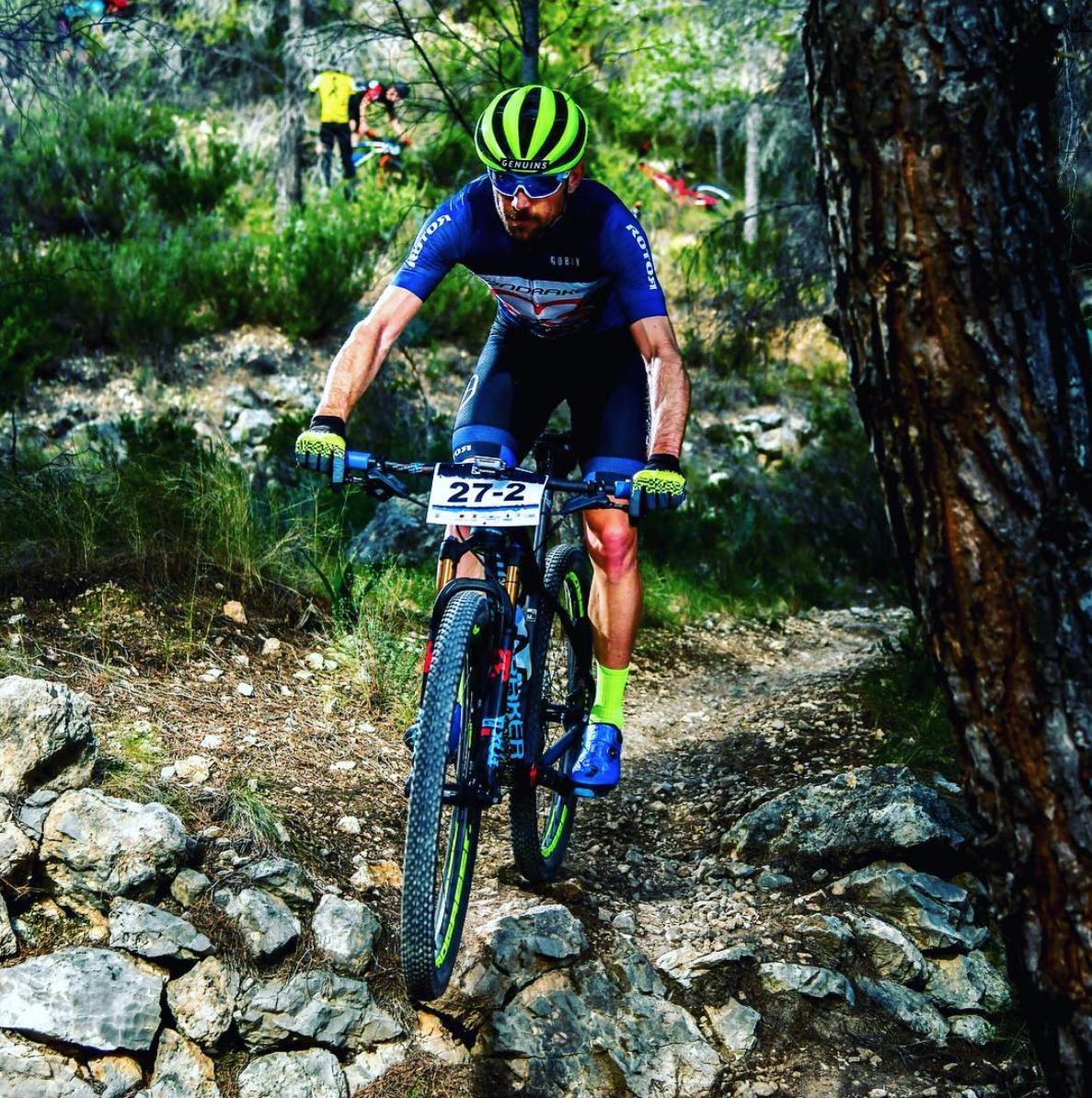 🚲 Nueva aventura para la dupla maratón de PMR Racing Team. @jesusdelnero y @davidarroyito estarán este domingo en @MojaqueraMTB , prueba que se disputa en Mojácar (Almería), muy cerquita de la casa de @Primaflor. ¡Suerte a los dos!
