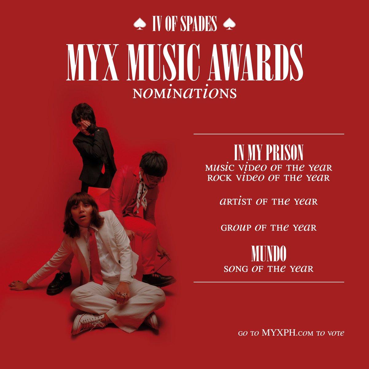 — MYX MUSIC AWARDS 2019 — VOTE —