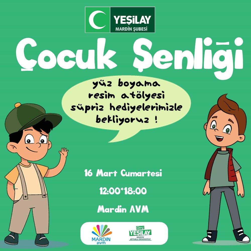 Yeşilay Mardin şubesi At Yesilaymardin Twitter Profile And