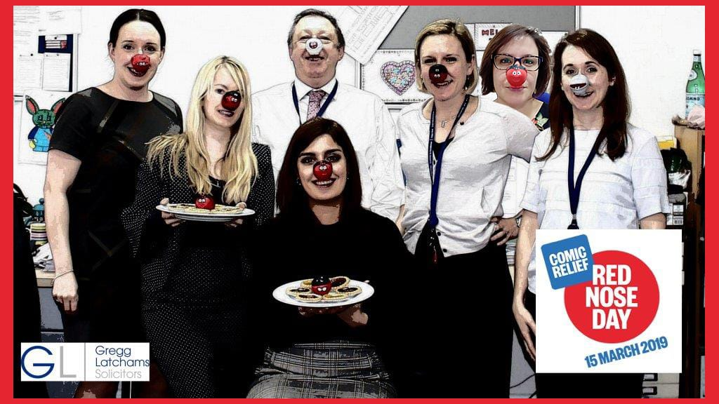 Gregg Latchams Family Law Team's photo on #RedNoseDay2019