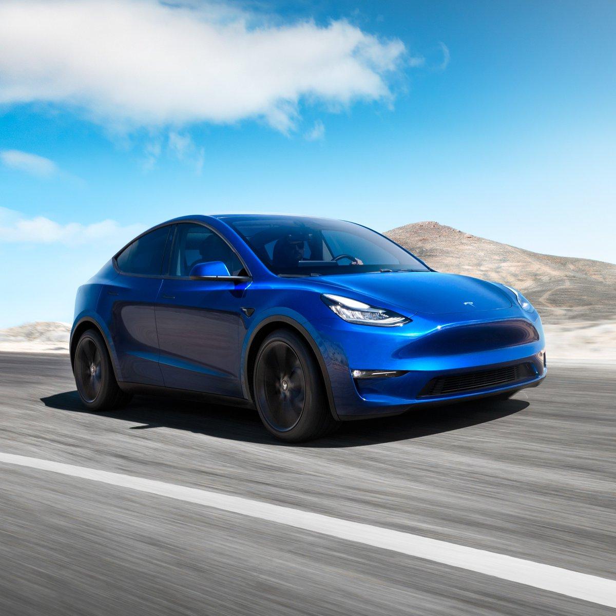 Tesla's photo on Model Y