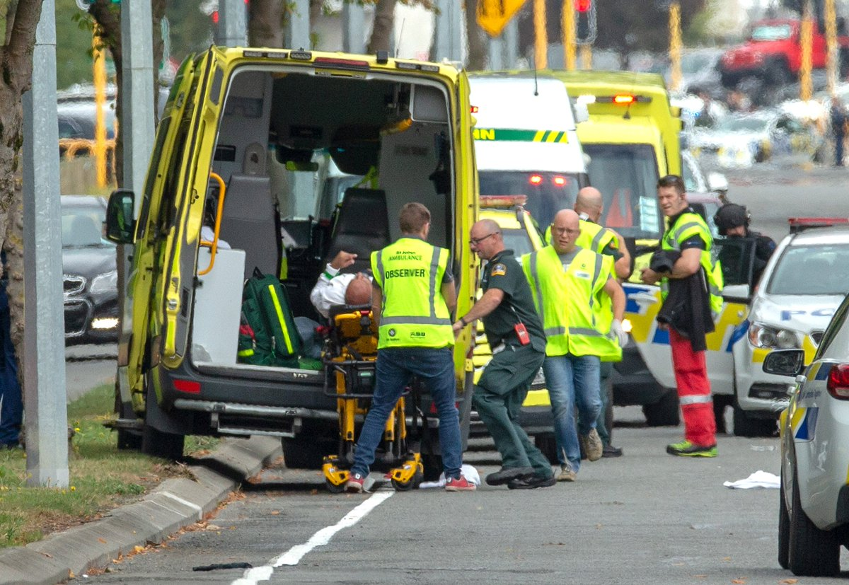 UPDATE: New Zealand police commissioner Mike Bush says four people in custody https://reut.rs/2F1pEyY