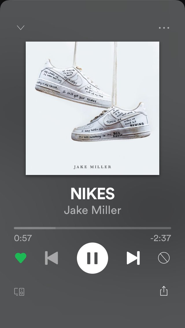 Charlie's photo on #NIKES