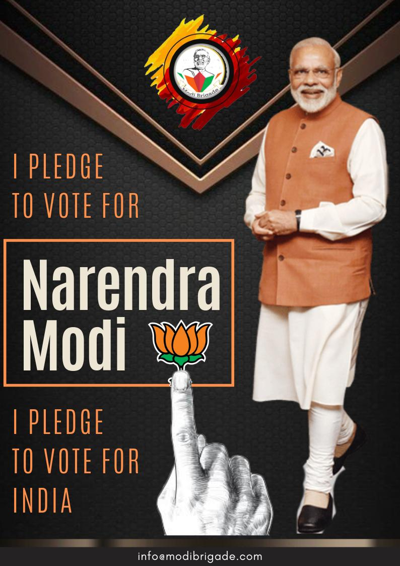 #MyVoteforIndia #MyVote4Modi  Voting is not only a privilege, it&#39;s a big responsibility. India has seen results of voting for wrong parties in past 60 years. As a PM,@narendramodi has done his part very well. Now nations progress lies in our vote! #ModiHaiToMumkinHai @Ramesh_BJP<br>http://pic.twitter.com/6oKDSZi48C