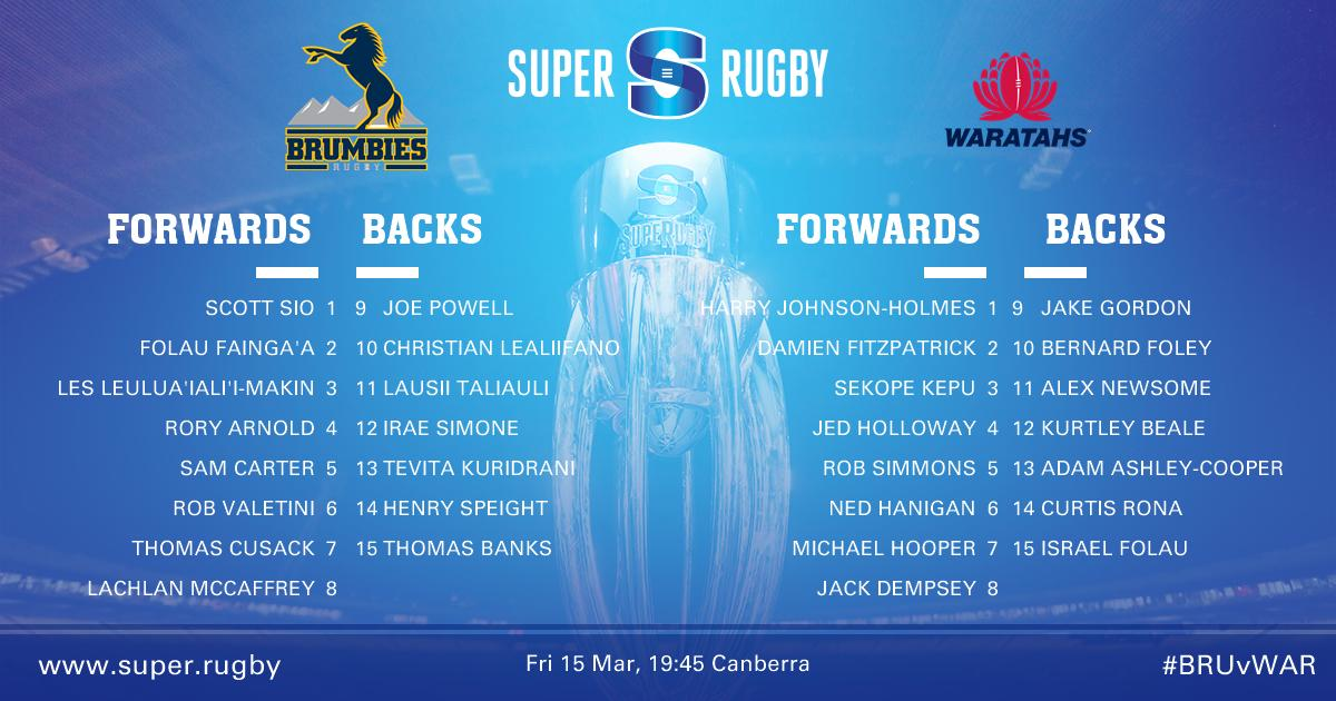 Super Rugby's photo on #BRUvWAR