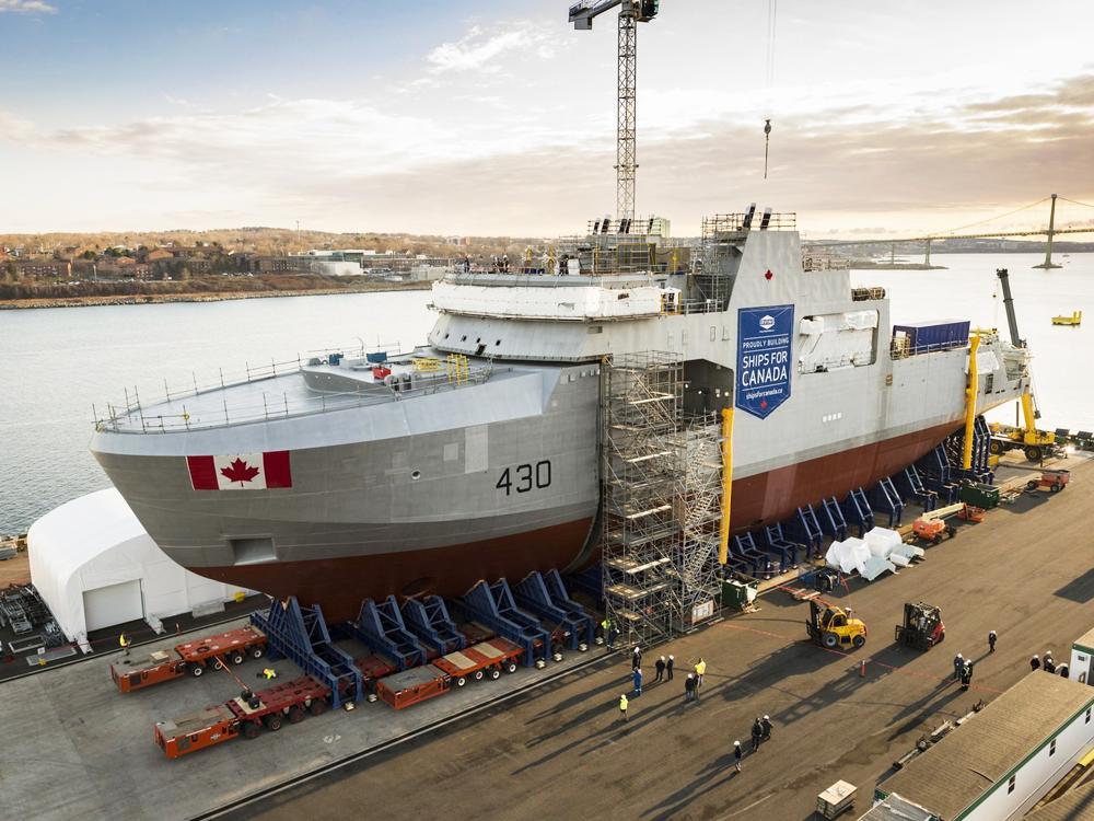 Calgary Herald's photo on Irving Shipbuilding