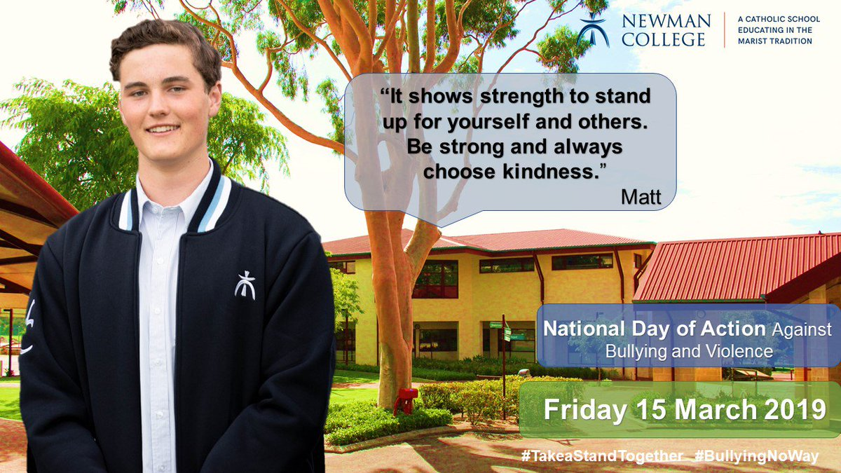 Newman College's photo on #BullyingNoWay
