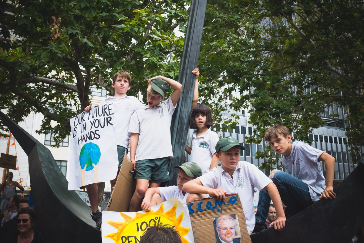 Henry Lydecker's photo on #ClimateAction