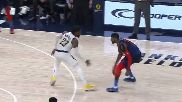 Wesley Matthews gets the critical stop for your Heads Up Play of the Day!