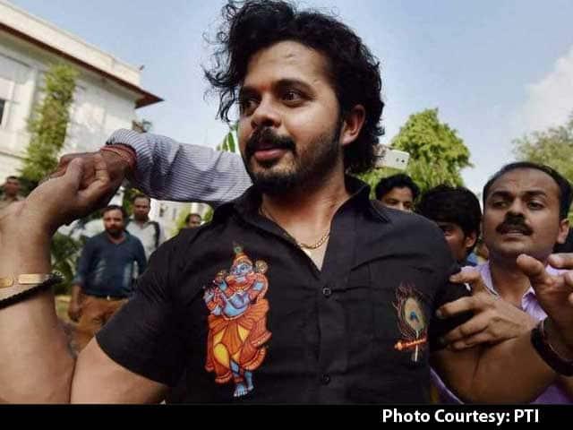 CricketNDTV's photo on #Sreesanth
