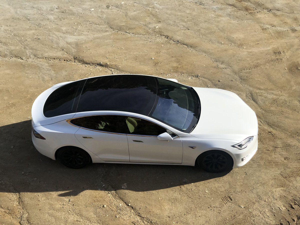 """Model Y Twitter: Tesla On Twitter: """"Panoramic Glass Roof On Model Y"""""""