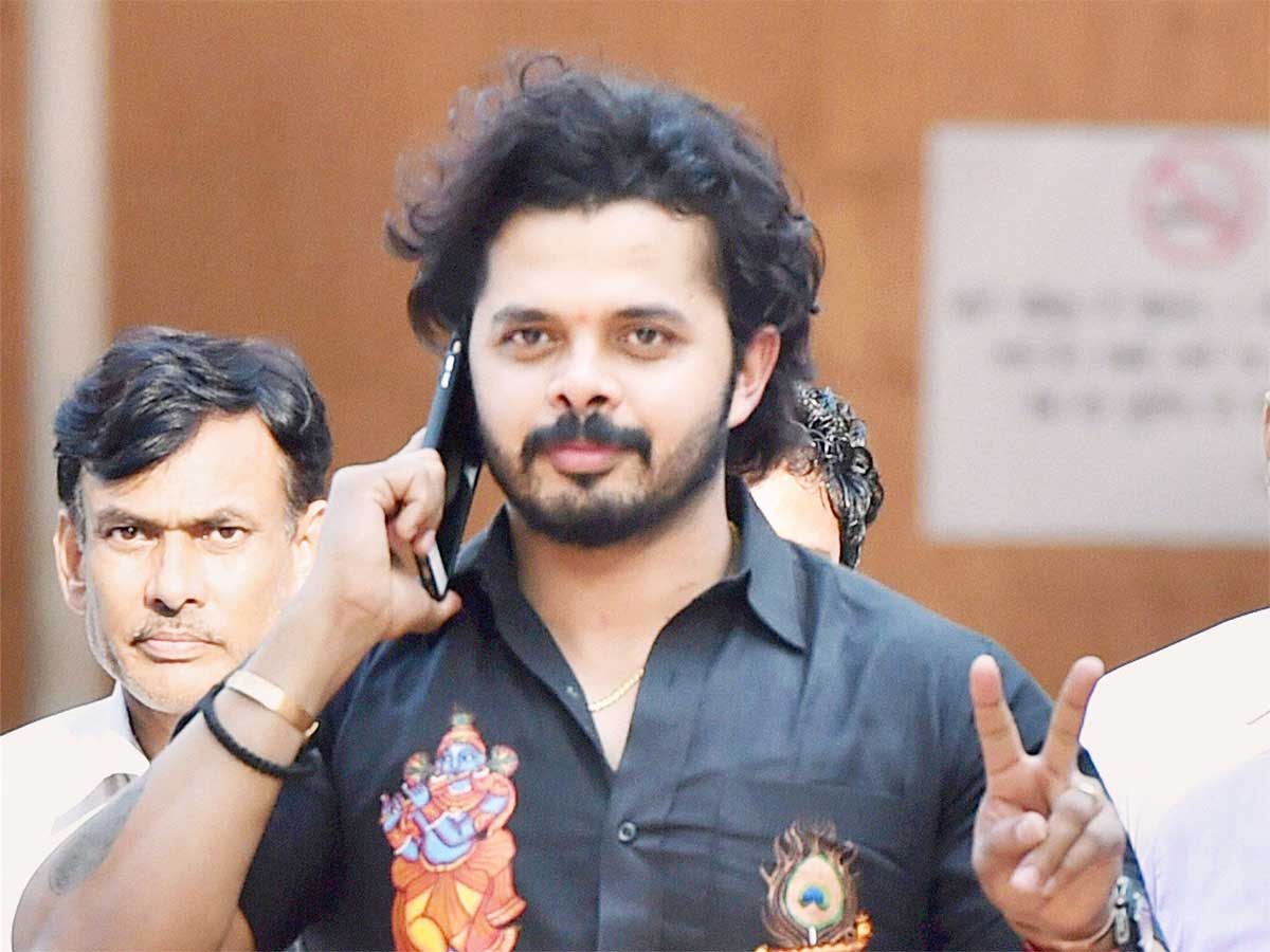 Times of India's photo on #Sreesanth