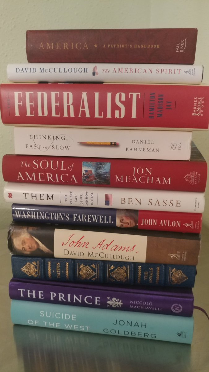 That&#39;s because you don&#39;t appear to understand the Constitution, Congress Article 1 power of purse, importance of checks and balances and especially not #PrinciplesFirst so here is a a couple books I recomnend. Tacitus was Jeffersons recommendation for every future American <br>http://pic.twitter.com/wUgApfGfKF