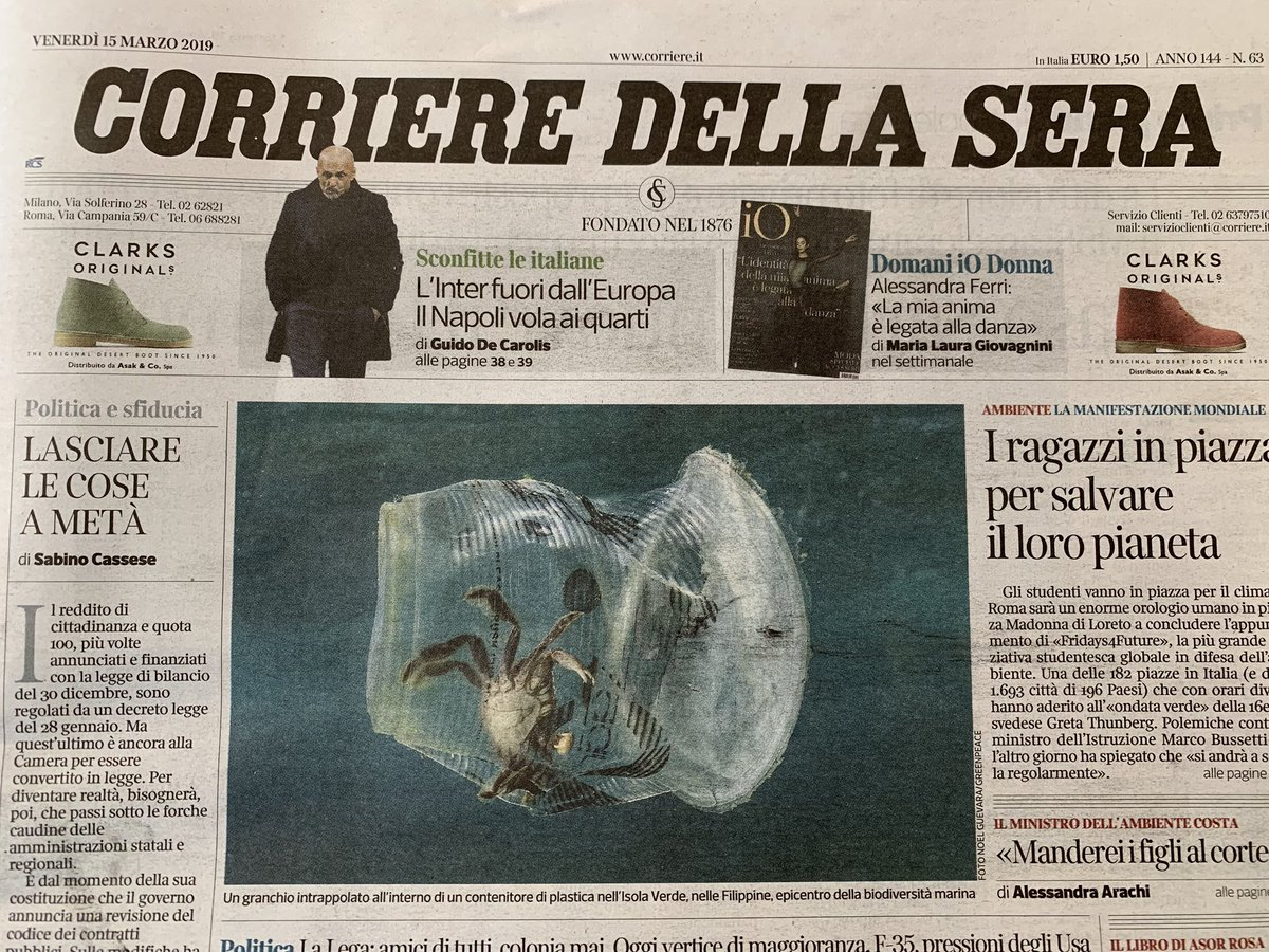 Enzo Pennetta's photo on #ScioperoPerIlClima