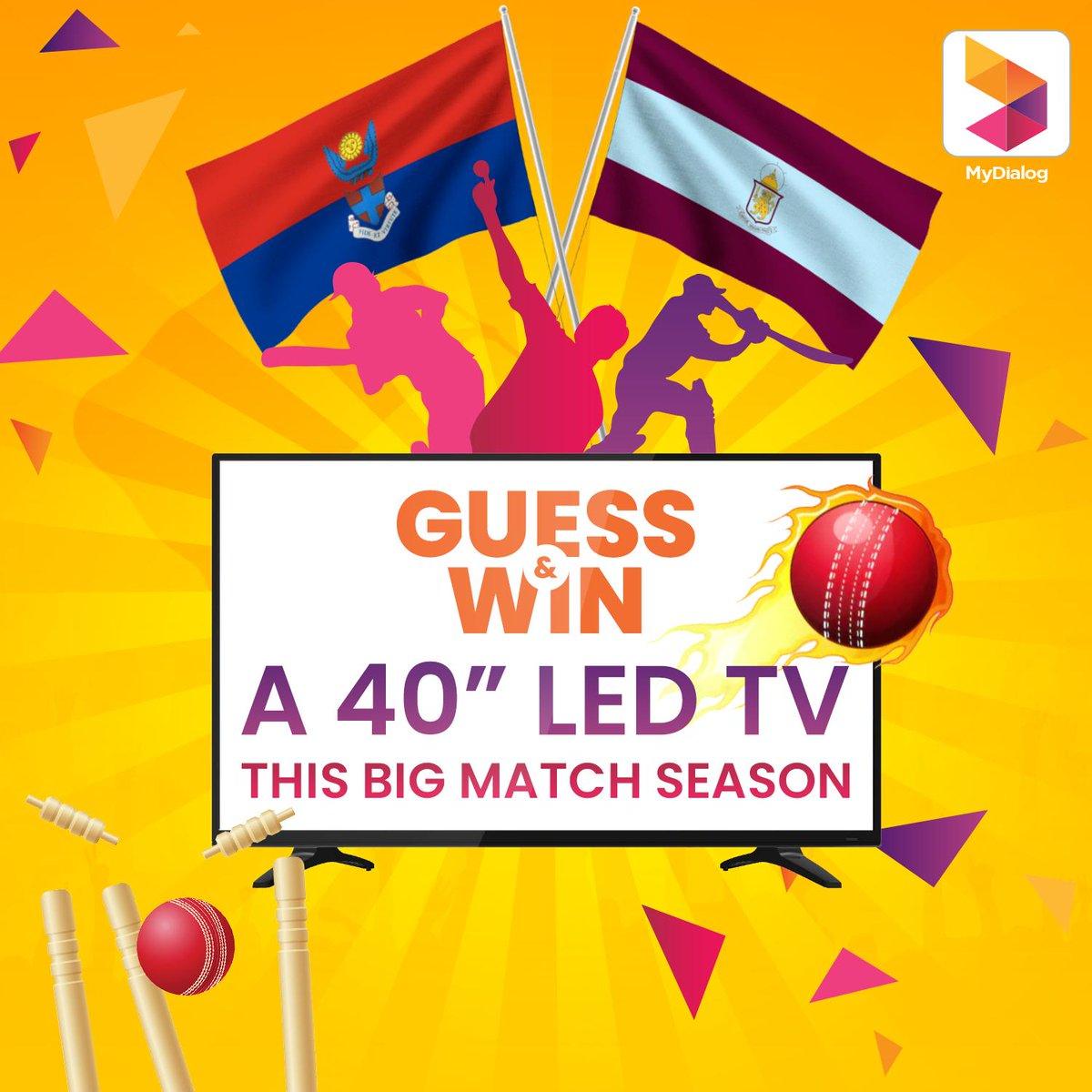 Guess the winner of the Kingswood vs Dharmaraja big match