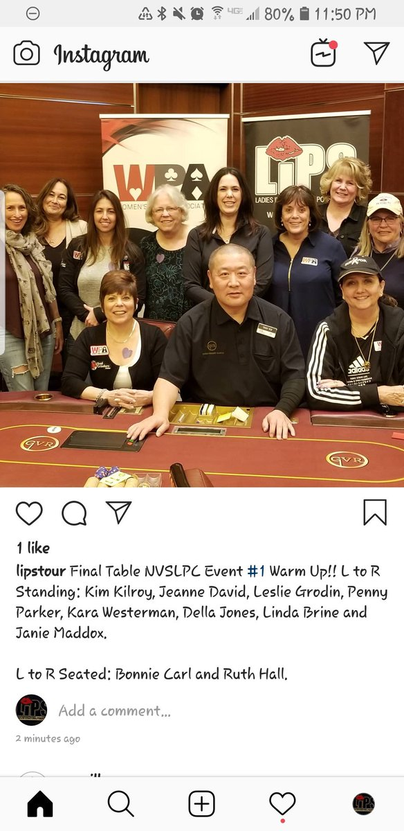 Final Table NVSLPC Event #1 Warm Up Event!!!