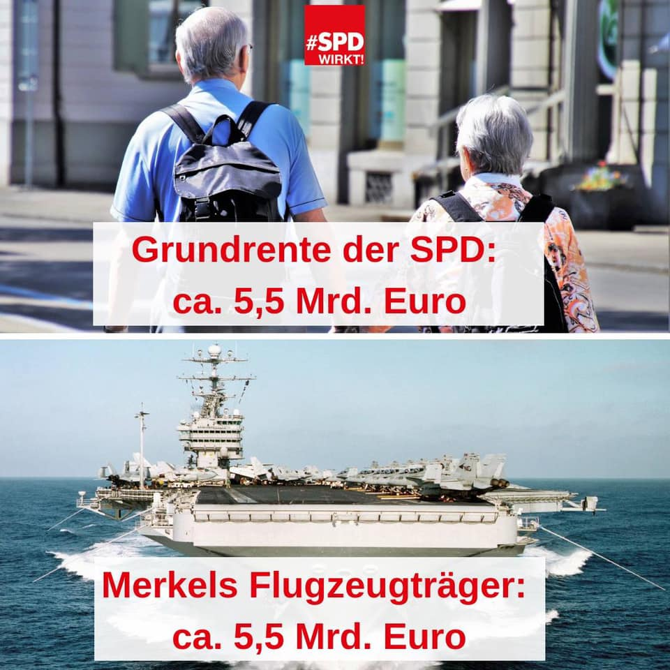 SPD-Landesverband MV's photo on #stattflugzeugträger