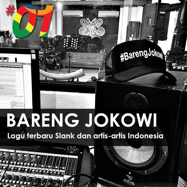 ganendrax's photo on #BarengJokowi